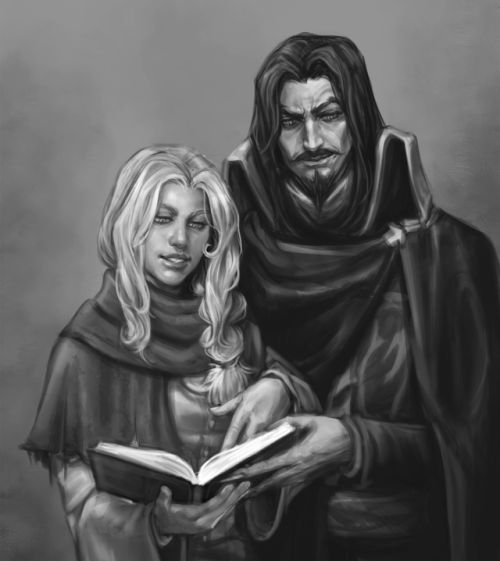 Vlad Dracula Tepes and Lisa Tepes from the village of Lupu