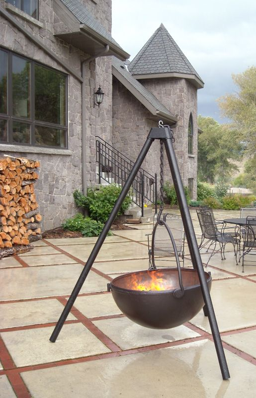 Fire Pit Images & Cast Iron Pictures | Cowboy Cauldron