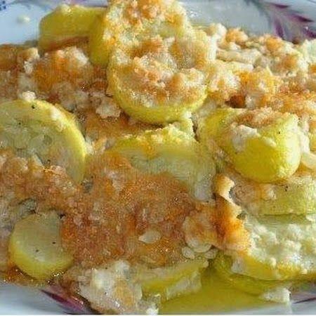 Yellow Squash Casserole - Cocinando con Alena