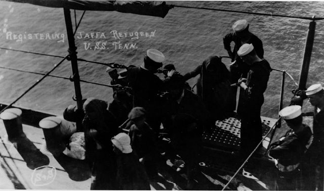 Picture a Day: The U.S. Navy Evacuated 6,000 Jews from Jaffa in 1914/1915