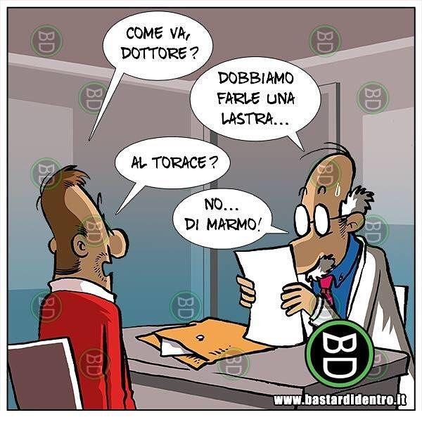 Quando hai bisogno di una lastra... #bastardidentro #perfettamentebastardidentro #medico www.bastardidentro.it
