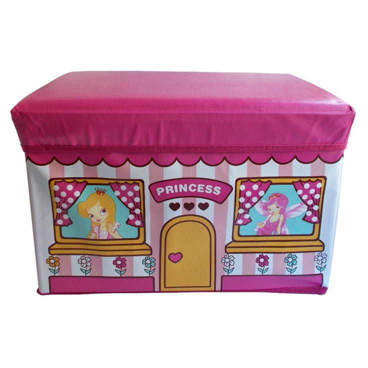O frumoasa cutie de depozitare pentru printesa ta! :)