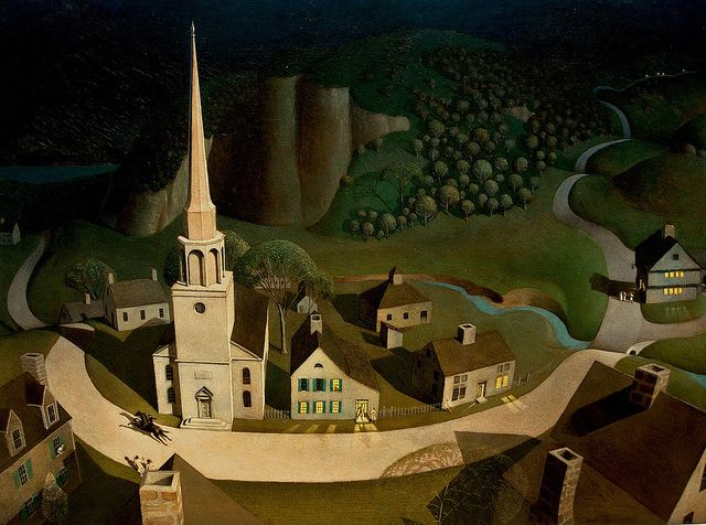 the idea of the ride in the midnight ride of paul revere a painting by grant wood American revolutionary paul revere was immortalized in the henry wadsworth longfellow poem the midnight ride of paul revere, for bearing news of an impending british invasion to the town of.