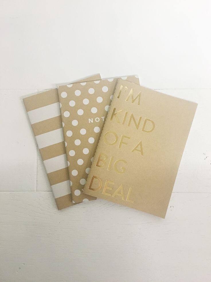 Big Deal Notebook Set