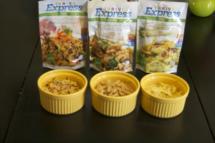 I Tried it for You! Thrive Express Freeze-Dried Meals Review - The Busy B Homemaker