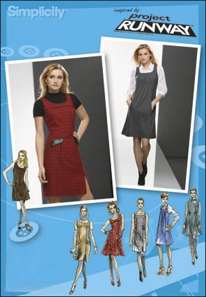 simplicty pattern 2848 | Simplicity 2848 Misses & Miss Petite Jumper Project Runway Collection