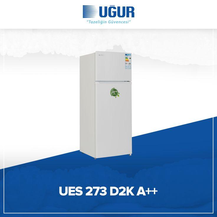UES 273 D2K A++ birçok özelliğe sahip. Bunlar; mekanik ısı kontrol, şeffaf çekmece, pratik yumurtalık bölümü, ayarlanabilir ayak, iç aydınlatma, yüksek performanslı statik soğutma, yönü değiştirilebilir kapı. #uğur #uğursoğutma