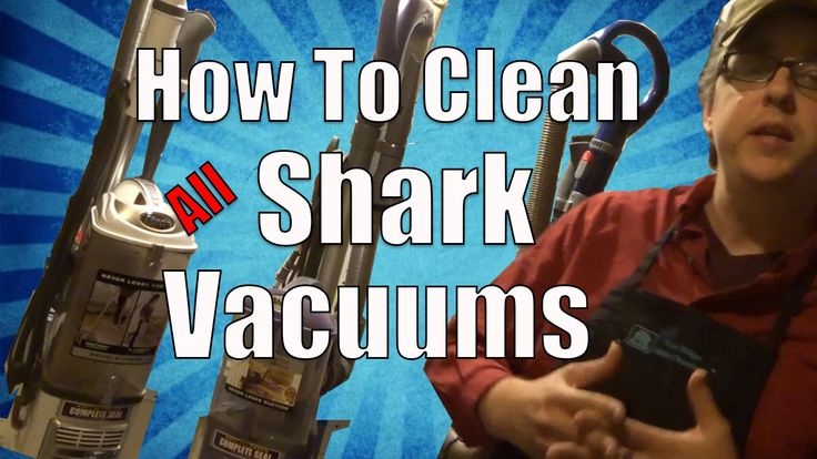 How to Clean Shark Vacuums (All Models)