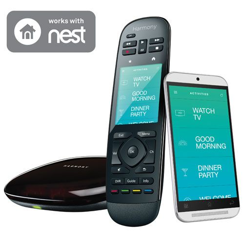 Customize every connected device in your home with Logitech's Harmony Home Control. Integrating lights, locks, blinds, thermostats, sensors, entertainment devices, and more for control from an intuitive touchscreen remote or handy... Free shipping on orders over $25.