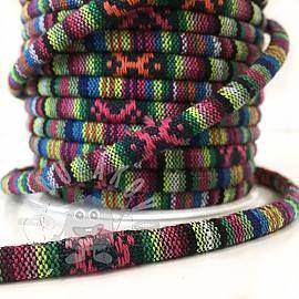 Bavlnená šnúra 5 mm Aztec pattern