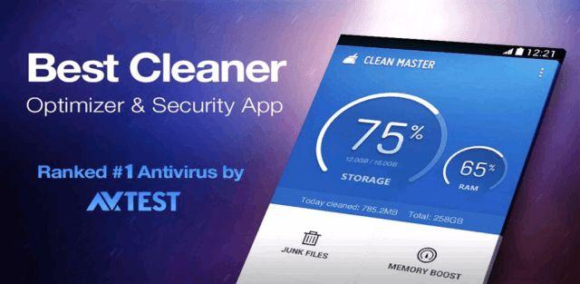 Clean Master (Boost & AppLock) v5.12.2 build 51225850