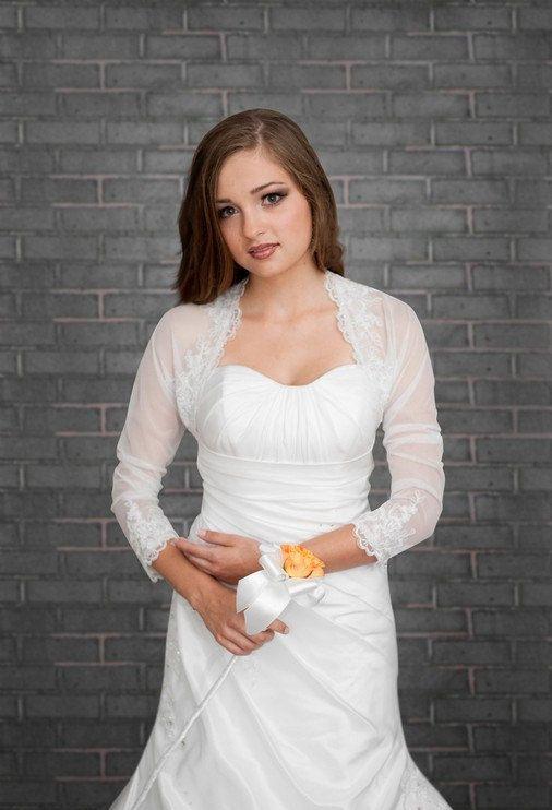 White Bolero Jacket