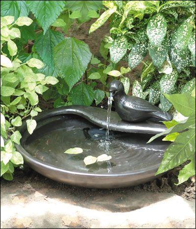 Great Ceramic Dove Solar Fountain $84.99