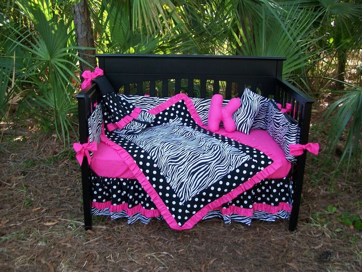 Best Baby Girl Options Images On Pinterest Babies Nursery - Baby girl zebra crib bedding sets