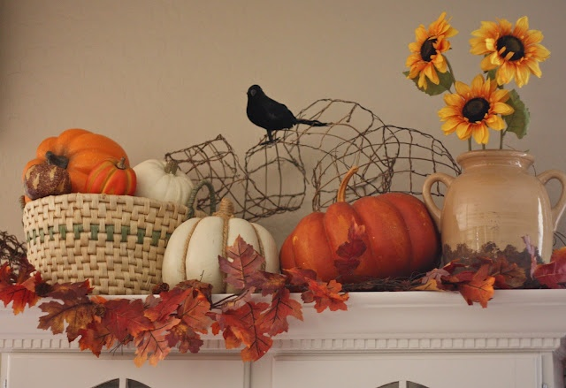 Neat harvest decor personal home decor ideas for Harvest decorations for the home