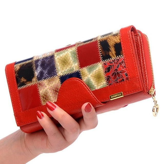 Wallet Top Quality New Brand Leather Women Coin Pocket Female Clutch Travel Fashion Carteira Billetera 17Apr27