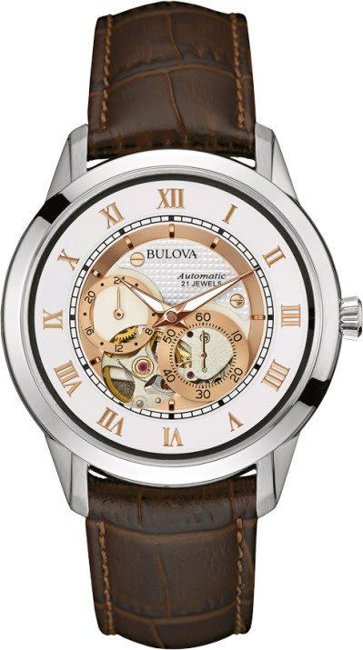 @bulova Watch Gents #2015-2016-sale #add-content #basel-16 #bezel-fixed #black-friday-special #bracelet-strap-leather #brand-bulova #case-depth-12-4mm #case-material-steel #case-width-41mm #delivery-timescale-call-us #dial-colour-white #fashion #gender-mens #movement-automatic #new-product-yes #official-stockist-for-bulova-watches #packaging-bulova-watch-packaging #sale-item-yes #style-dress #subcat-classic #supplier-model-no-96a172 #vip-exclusive #warranty-bulova-official-3-year-guarantee…