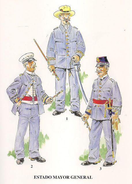 soldados españoles en Cuba (época colonial).