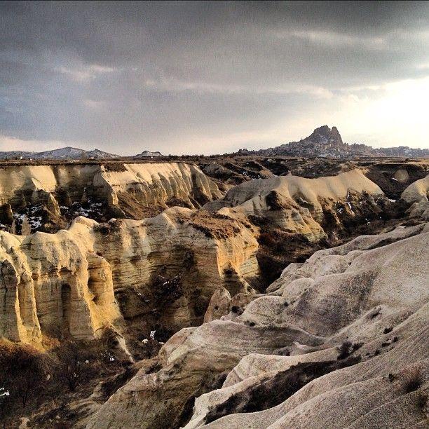 Photo from the Instacanvas gallery of jotheorin. Surrealistic landscape near Goreme - Cappadocia - Turkey