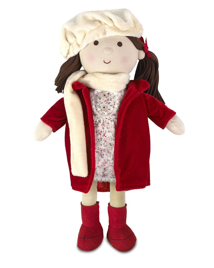 Holly Christmas Rag Doll, just what every girl wants Christmas morning