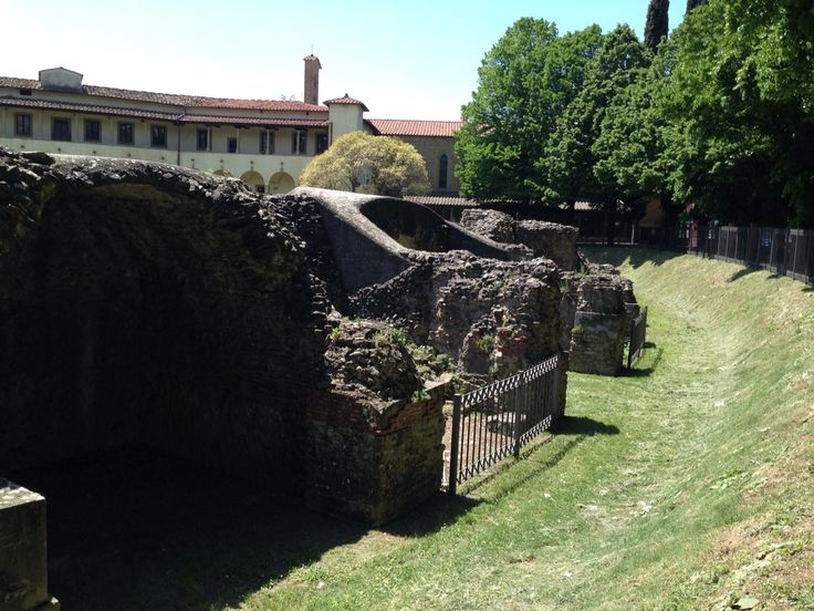 #archeologic #arena in #arezzo #tuscany