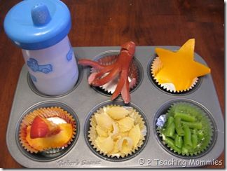 Muffin Tin meal. Totally creative! I love it. #classicalconversations #science #week19