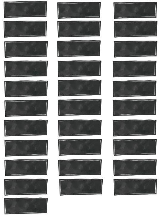 Editable printable labels