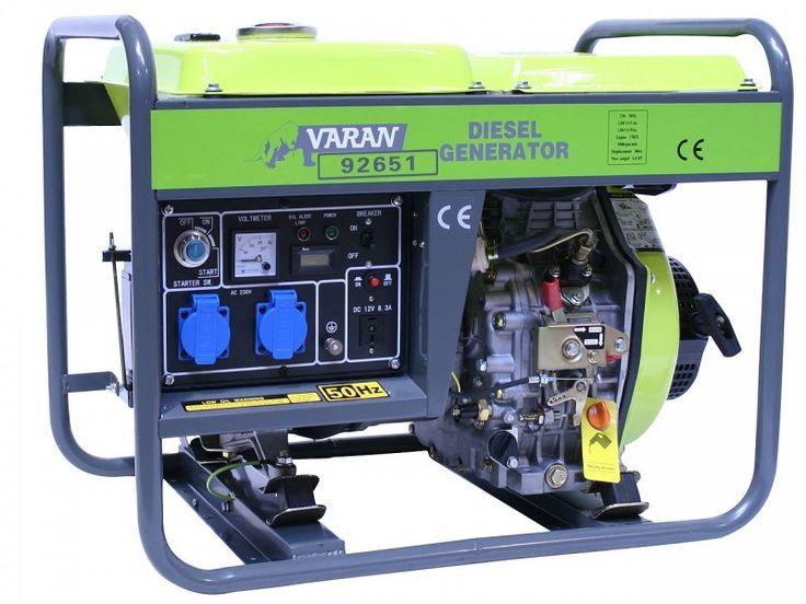 Générateur électrique Diesel 3300W, 2 x 230V, 1 x 12V SUR -WWW.LETSDISCOUNT.FR