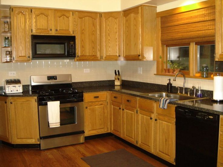 best paint colors for kitchen walls with oak cabinets