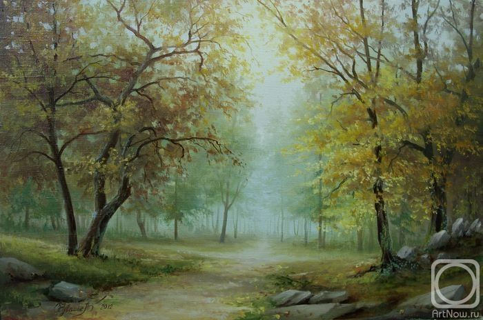 Чувашев Олег. Осенний парк