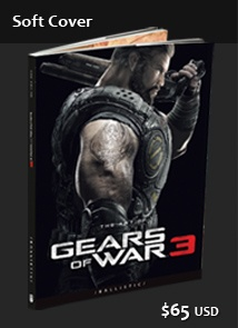 Gears of War 3 Softcover  I want this so bad!