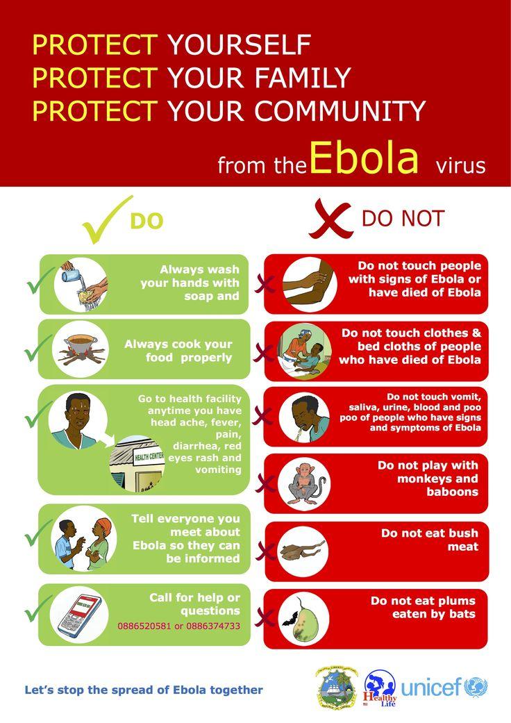 Unicef ebola poster