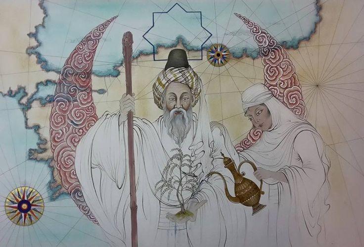 Anadolu söğütte yeni bir can bulacak..evhadüddin hamid el kirmani ve kızı fatma bacı.