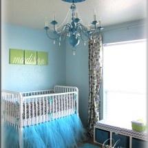 Nursery Ideas - love the tutu crib skirt idea