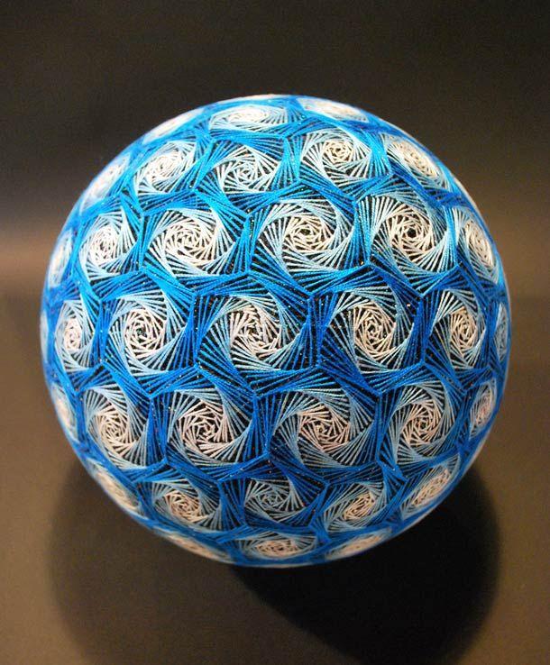 Temari Balls – Les créations d'une japonaise de 88 ans
