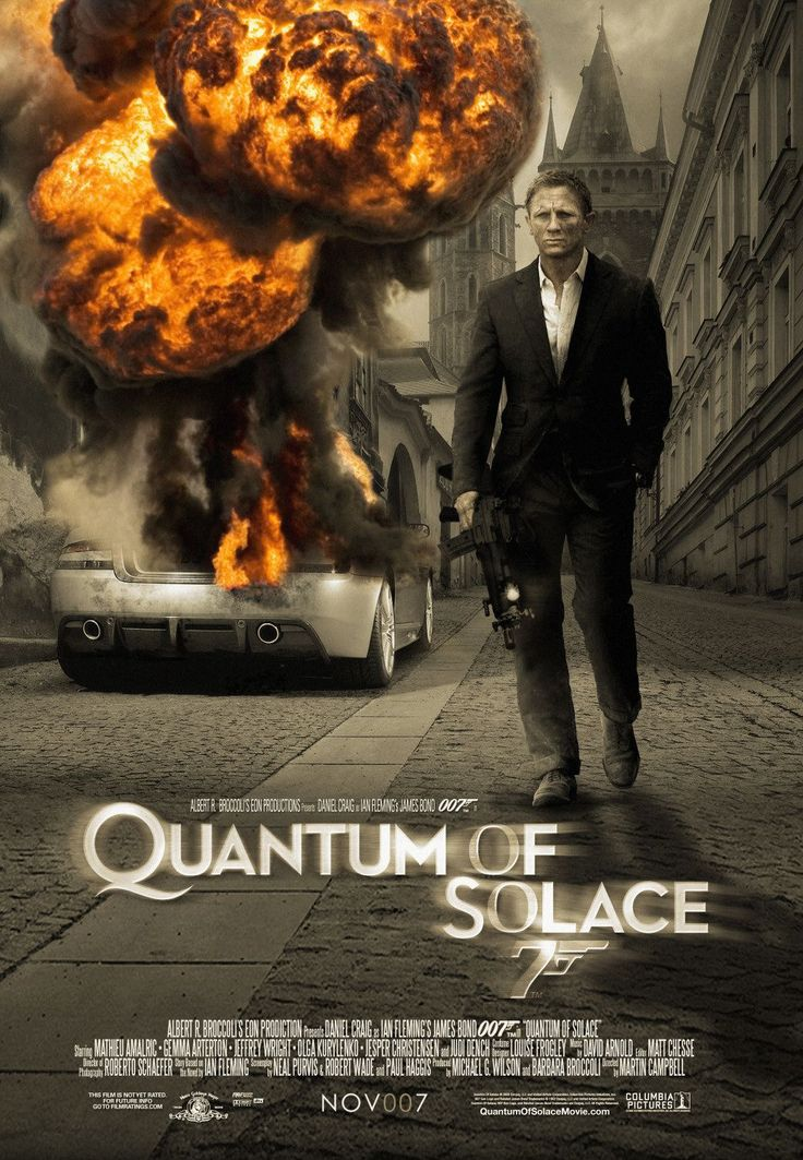 007 23 2008 quantum of solace poster bond daniel craig. Black Bedroom Furniture Sets. Home Design Ideas