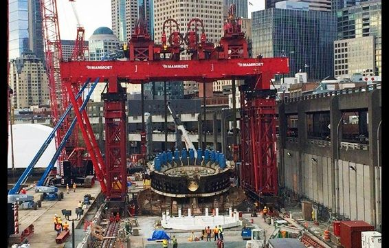 THE GALLERY | Tunnel boring machine cutter lifted to surface for repair | Online news | New Civil Engineer