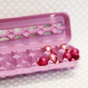 Purply Pink Egg Cartons + Sweet Lulu