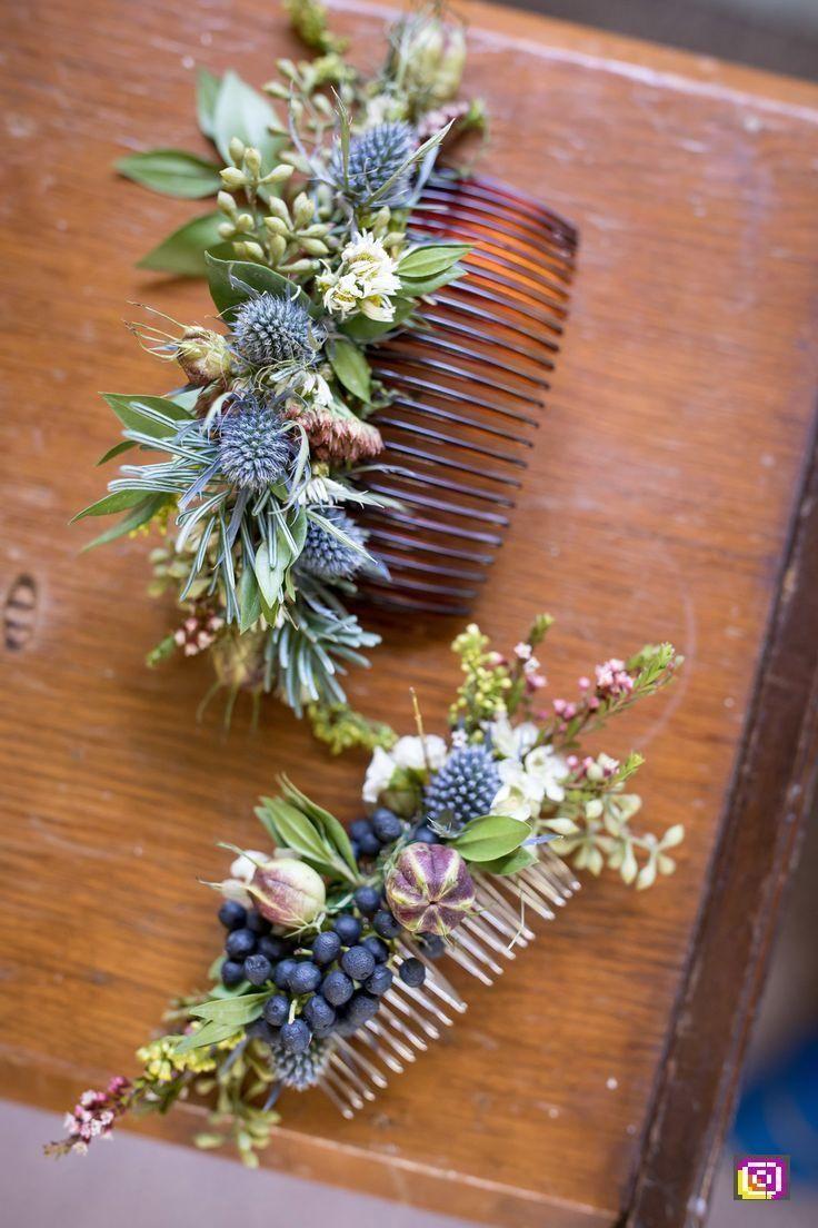 Floraler Haarschmuck – Blumen für die Hochzeit – #wedding #hochzeit