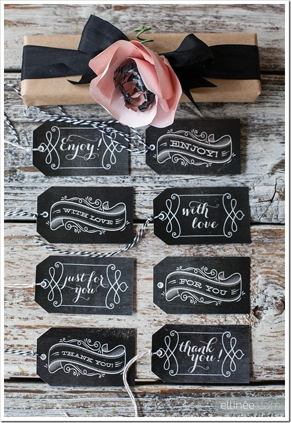 Gift Tags to print out