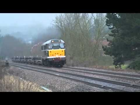 31190 on 6Z31 Climbing the Lickey Bank