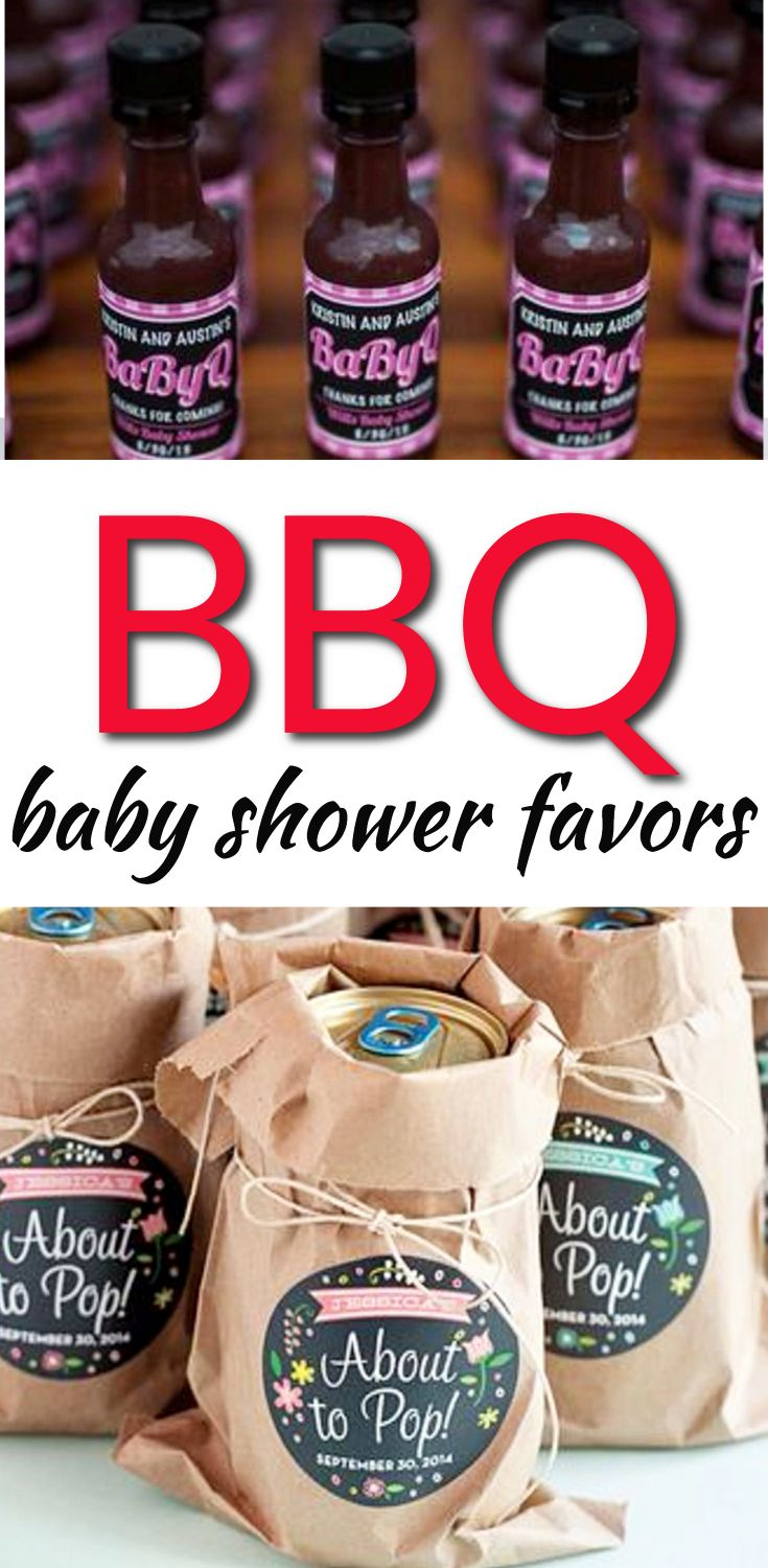 Baby Shower Favor Ideas! The best BBQ baby shower favors! Amazing boys baby shower favors as well as the coolest girls baby shower favors. Find gender neutral ideas for your guests at your BBQ theme baby shower. From DIY ideas to candles to soap to lotion to candy that are cheap, unique and classy. Find the best baby shower favor ideas now!