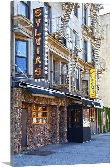 Harlem, another view of Sylvia's restaurant