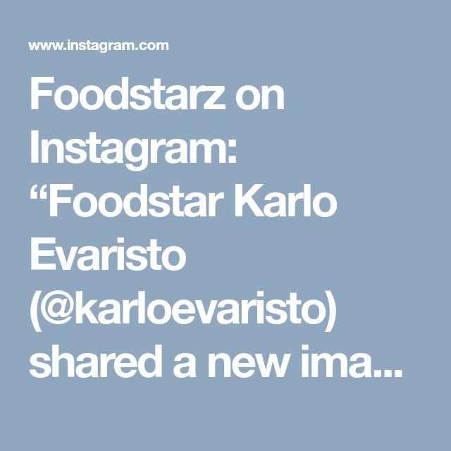 "Foodstarz on Instagram: ""Foodstar Karlo Evaristo (@karloevaristo) shared a new image via Foodstarz PLUS /// Beef, Forbidden Rice, King Trumpet Adobo, Pea Parsley…"""