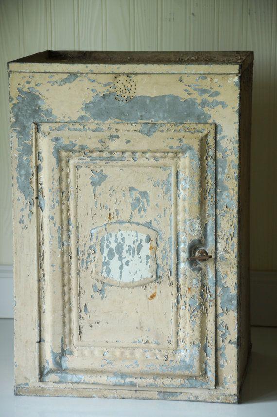 Antique Kitchen Cupboard Screened Doors