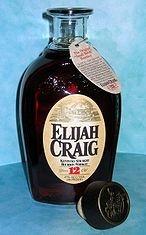 Elijah Craig Bourbon to make Manhattans