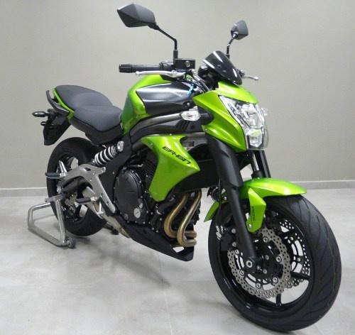 A ER6-n só parece a mesma moto, mas as mudanças são profundas... Estamos chegando lá...