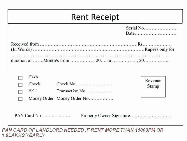 Landlord Rent Receipt Template In 2020 Being A Landlord Receipt