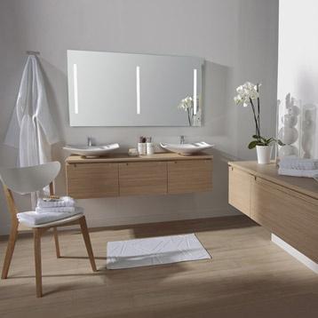 interesting meuble de salle de bains neo imitation chne leroy merlin with plan snack leroy merlin. Black Bedroom Furniture Sets. Home Design Ideas
