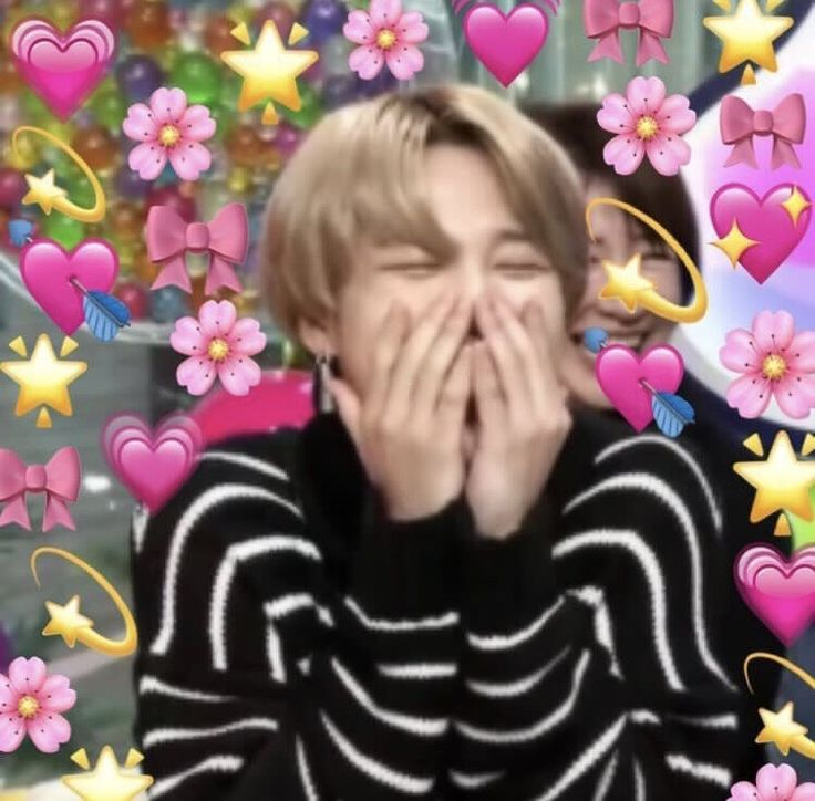 Me throwing my love and affection to all the BTS members cause all of them deserve the best omg